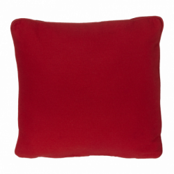 "Pillow, Red 13""x13"""