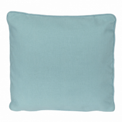 "Pillow, Blue Topaz 13""x13"""