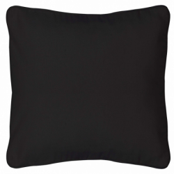 "Pillow, Black 13""x13"""