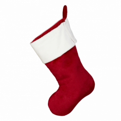 "Easter Stocking 22.5"", Red..."