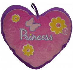 Heart Princess Pillow...