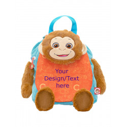 "Monkey Backpack 11.5"" x 9""..."