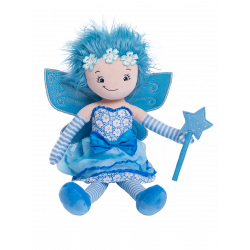 Blue Fairy Rag Doll 22""